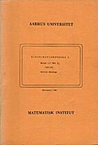 Distributionsteori I: noter til mat 2.2…