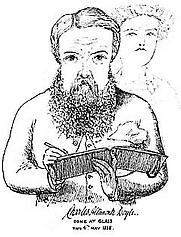 Author photo. Self-portrait, 1888.