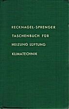 Taschenbuch für Heizung und Klimatechnik by…