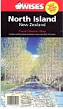 New Zealand North island Travel Master Map…