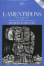 Lamentations by Delbert R. Hillers