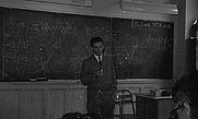 Author photo. This is Georges Flory teaching his class cerca 1940.