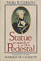 Statue in search of a pedestal: A biography…