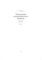 Vaatetusalan ammattitekniikan käsikirja by…