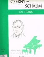 Czerny-Schaum for Piano: Book 1 by Karl…