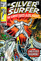 The Silver Surfer [1968] #18 by Stan Lee
