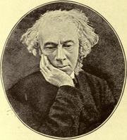 Author photo. Aubrey Thomas de Vere (1814-1902) in his old age. Image from The Poets' Chantry (1912) by Katherine Brégy