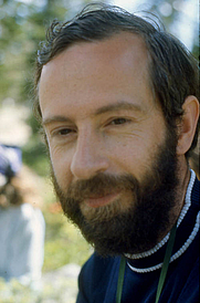 Author photo. Richard Pankhurst, at the First International Conference on Systematic and Evolutionary Biology, Boulder CO, 1973