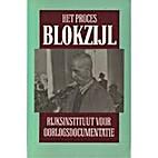 Het Proces Blokzijl by Drs. A.H. Paape