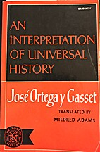 An Interpretation of Universal History by…