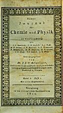 Journal für Chemie und Physik by Johann…