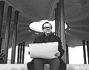 Author photo. Lester Cooke at Grand Coulee Dam, Washington<br>Source: <a href=&quot;http://www.usbr.gov/museumproperty/art/biocooke.html&quot;>US Bureau of Reclamation Fine Art Collection</a>
