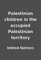 Palestinian children in the occupied…