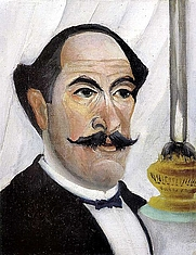 Author photo. Self-portrait of the Artist with a Lamp