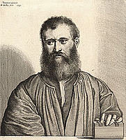Author photo. Giovanni Della Casa (1503-1556) Portrait of Giovanni della Casa by Wenceslas Hollar