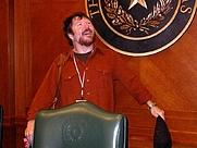 Author photo. John Burlinson, Nov. 3, 2007.