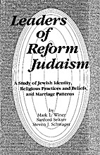 Leaders of Reform Judaism: A study of Jewish…