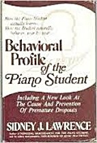 Behavioral Profile of the Piano Student:…