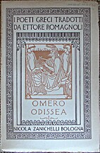 Omero Odissea, volvme primo by Homer