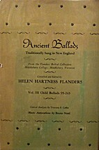 Ancient ballads traditionally sung in New…