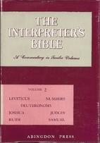 The Interpreter's Bible, Volume 2:…
