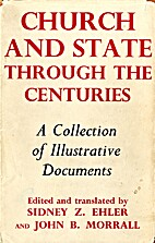 Church and state through the centuries; a…