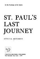 St. Paul's last journey by Otto…