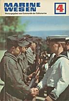 Marinewesen Heft 04 1970 by Kommando der…
