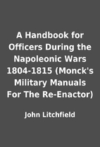 A Handbook for Officers During the…