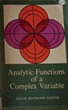 Analytic Functions of a Complex Variable by…