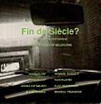 Fin de Siecle by Various