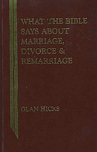What the Bible Says About Marriage, Divorce,…