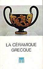 La céramique grecque aux Musées royaux…