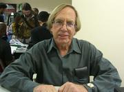 Author photo. Roy Thomas at Big Apple Con 2006