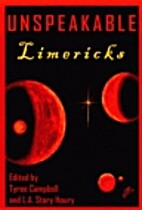 Unspeakable Limericks by Tyree Campbell