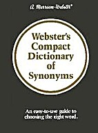 Webster's Compact Dictionary of Synonyms by…