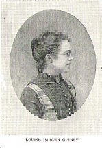 Author photo. Louise Imogen Guiney (1861-1920) Buffalo Electrotype and Engraving Co., Buffalo, N.Y.