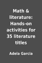 Math & literature: Hands-on activities for…