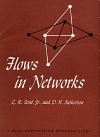 Flows in Networks (Rand Corporation Research…