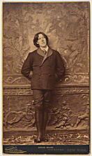 Oscar Wilde Note Cards by New York Sarony
