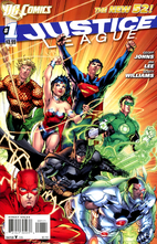Justice League, Vol. 2 #1 by Geoff Johns