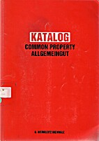 Katalog: Common Property/Allgemeingut by…