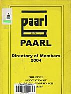 Directory of PAARL members