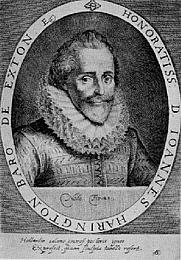 Author photo. http://commons.wikimedia.org/wiki/Image:Sir_John_Harington_(1561-1612).png