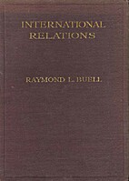 International relations, 2nd Edition by…