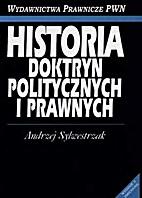 Historia doktryn politycznych i prawnych by…