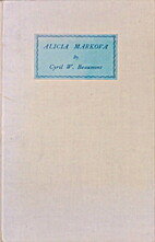 Alicia Markova by Cyril W. Beaumont