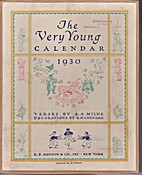 The very young calendar, 1930 by A. A. Milne