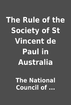 The Rule of the Society of St Vincent de…