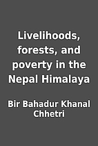 Livelihoods, forests, and poverty in the…